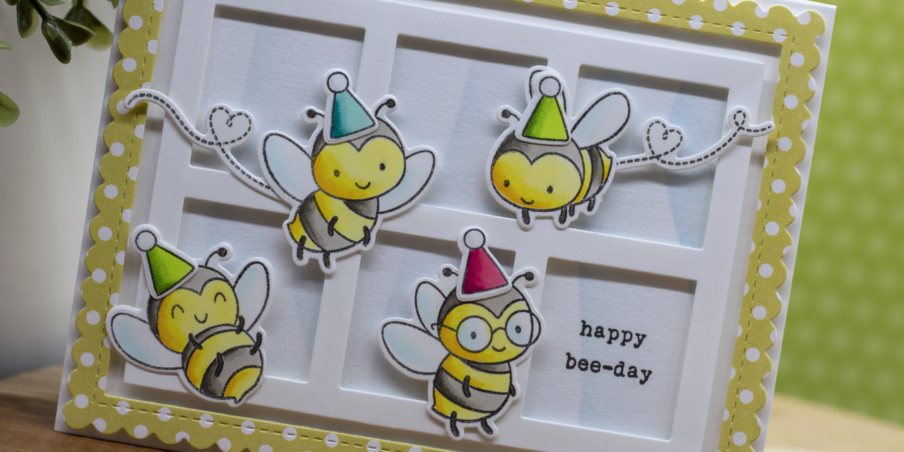 Happy Bee-Day with Eloise Blue