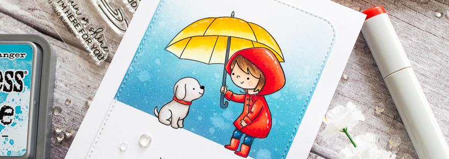 Rainy Day with Gemma