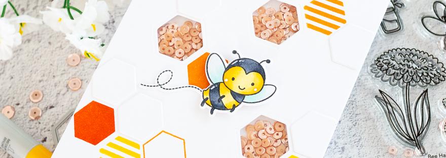 Honeycomb Shaker with Gemma