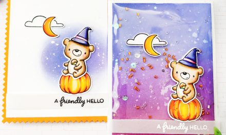 A Friendly Hello with Halloween Party….