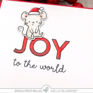 Joy to the World by Jessica Frost-Ballas for Hello Bluebird