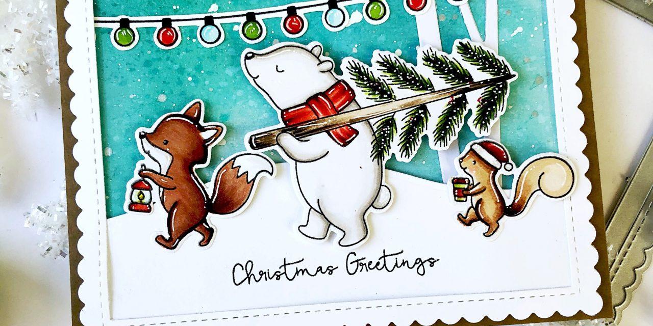 Christmas Greetings with Mayra…