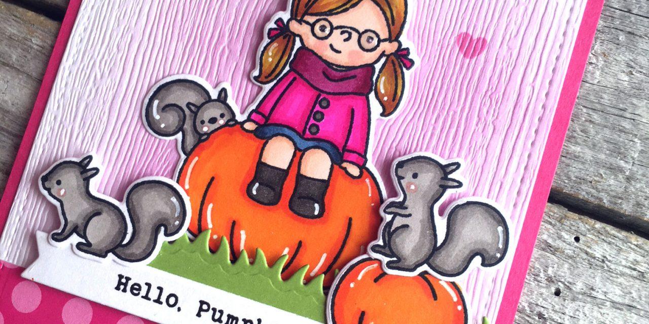 Hello Pumpkin with Audrey