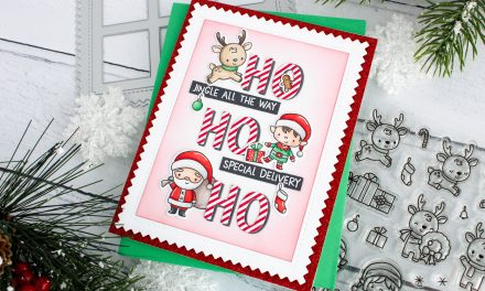 North Pole Littles card with Leanne