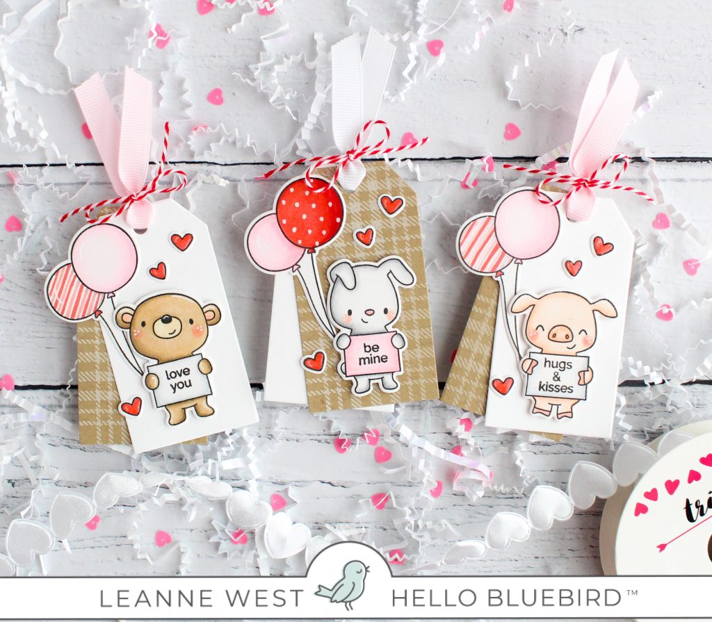 Valentine Tags With Leanne Hello Bluebird Blog