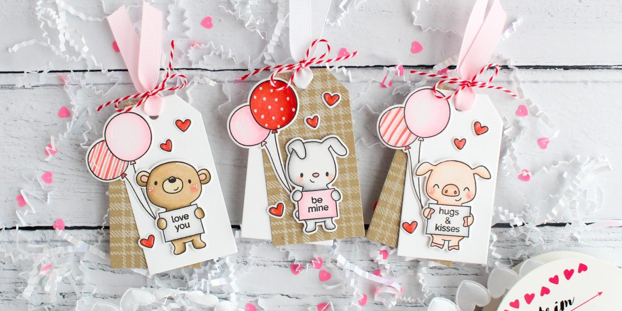 Valentine Tags with Leanne
