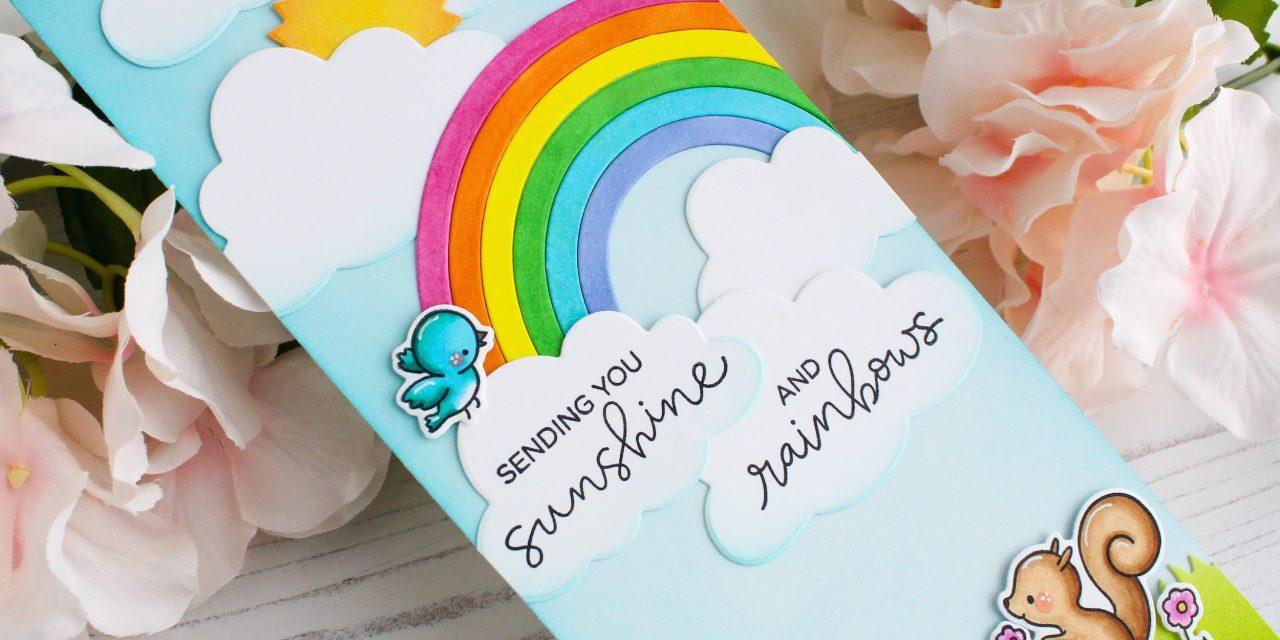 Banner Buddies Rainbow Card