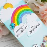 Banner Buddies Rainbow Card