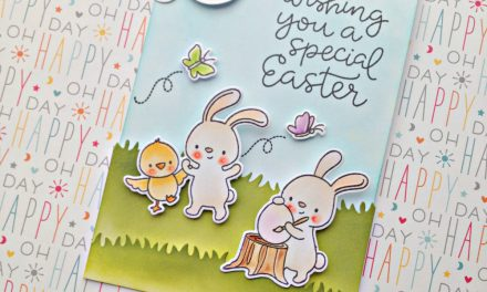 """A Special Easter"" card with Franci"
