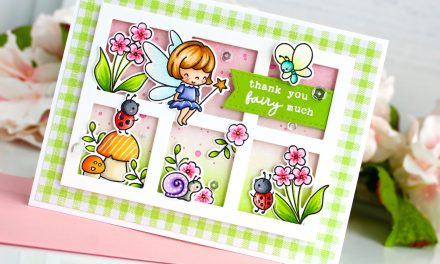 Fairy Garden Gallery Frame Card with Leanne