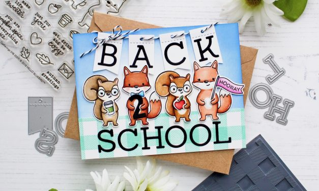Back 2 School Card with Leanne