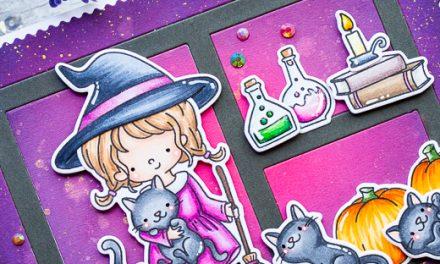 Purrfect Halloween with Gemma
