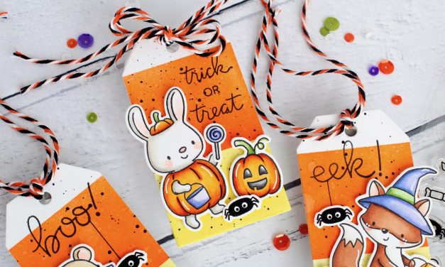 Little Haunters Halloween Tags with Leanne