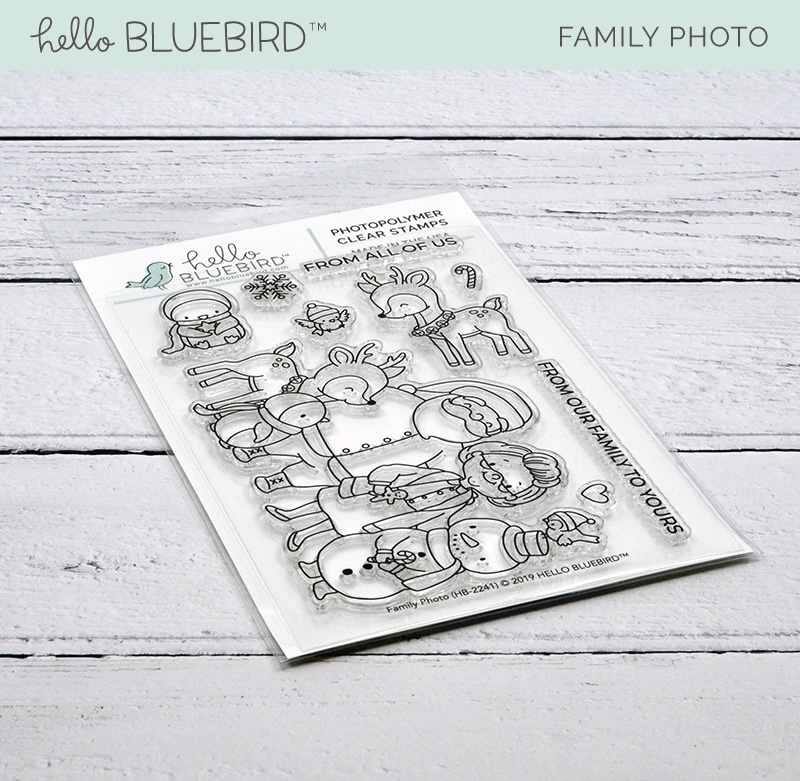 Family Portrait Stamp Set