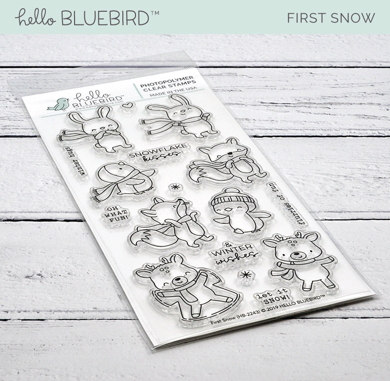 First Snow Stamp