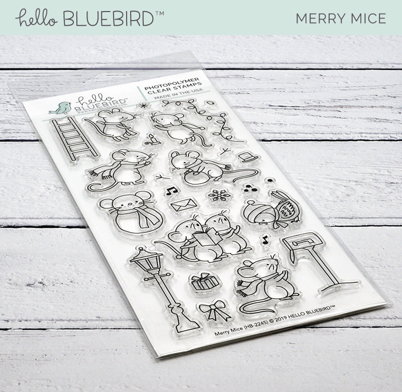 Merry Mice Stamp