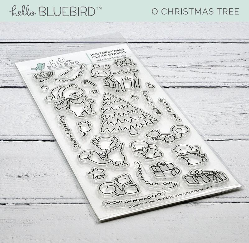 O Christmas Tree Stamp