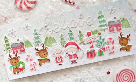 North Pole Littles Stamp With Suzy Plantamura