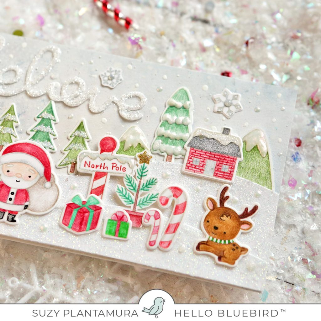 North Pole Littles Stamp With Suzy Plantamura Hello