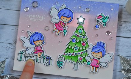 Light Up Fairy Card with Marine
