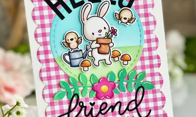 Hello Friend Card with Leanne