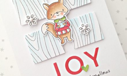 """Joy"" card with Franci"