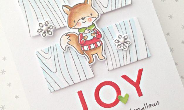 """""""Joy"""" card with Franci"""