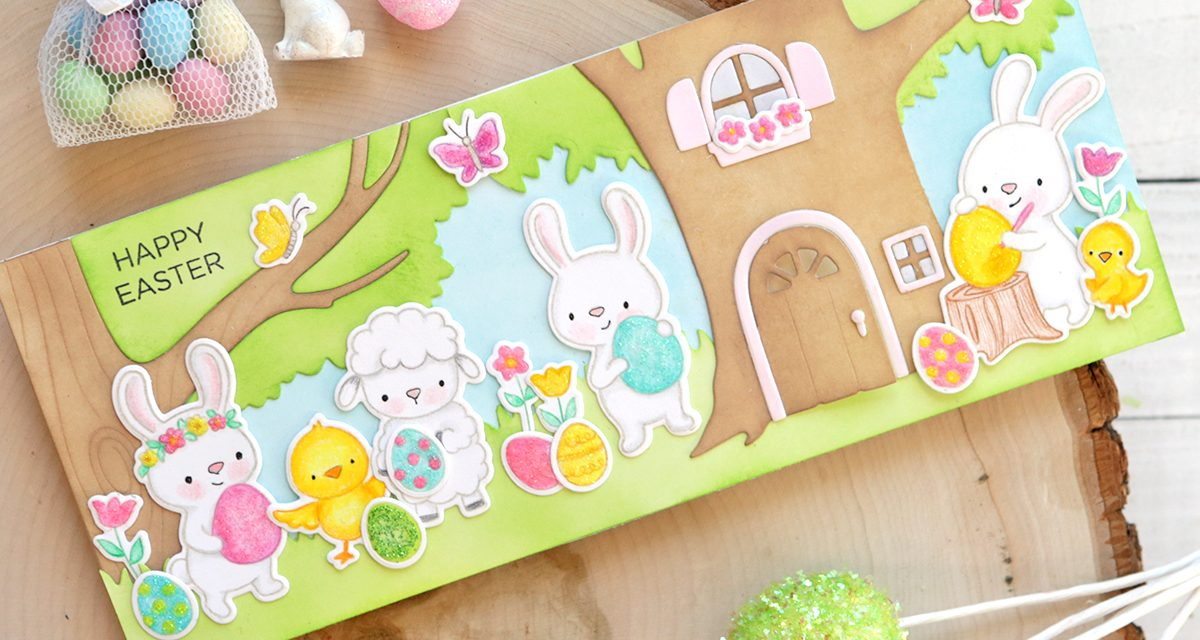 Happy Easter Card With Suzy Plantamura