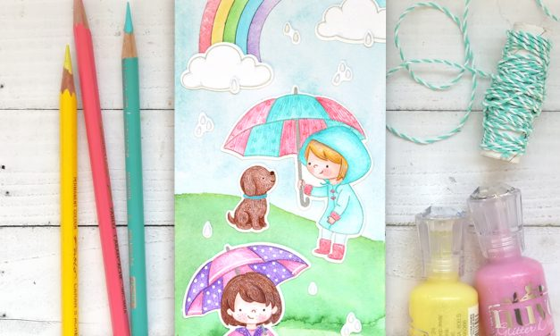 Rainy Day Stamp With Suzy Plantamura