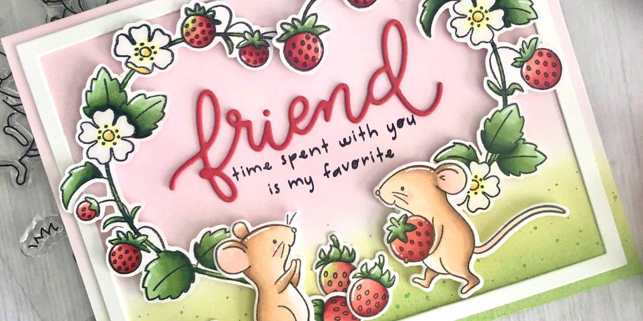 Strawberry Field Mice with Tammy