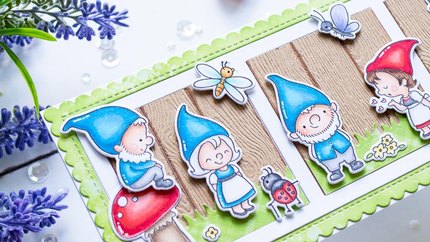 Next Door Gnomes with Gemma