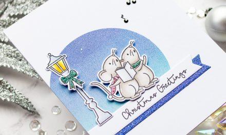 Merry Caroling Mice with Gemma