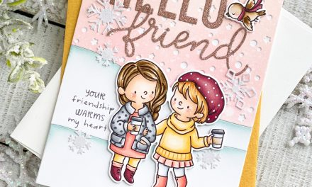 Frosty Mornings Card with Leanne
