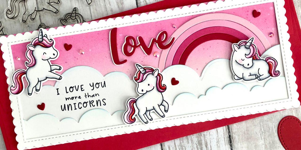 Valentine Unicorns with Tammy