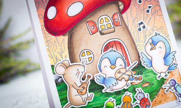Mushroom House with Gemma