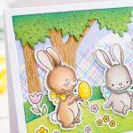 Easter Slimline with Gemma