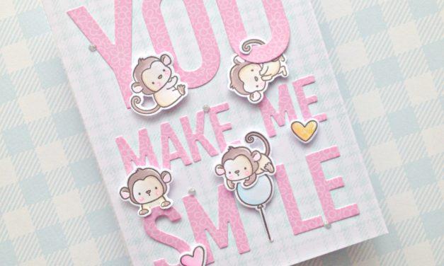 """You make me smile"" with Franci"